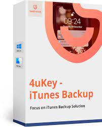 Tenorshare 4uKey iTunes Backup Key crack